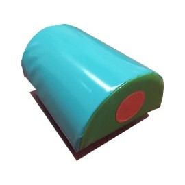 Escalón semicilindro espuma-PVC