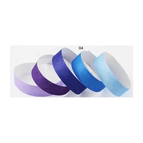 Pulsera TYVEK 1 Pulgada color Azul