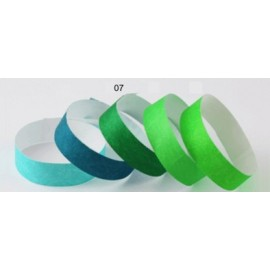 Pulsera TYVEK 1 Pulgada color Verde