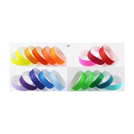 Pulsera TYVEK 1 Pulgada Multicolor